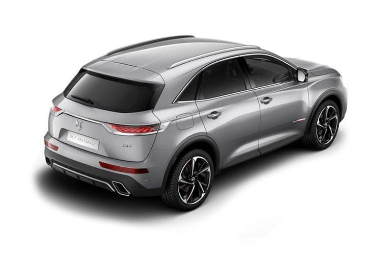 DS Automobiles DS 7 Crossback SUV 5Dr 1.6 PureTech 180PS Prestige 5Dr EAT8 [Start Stop] back view