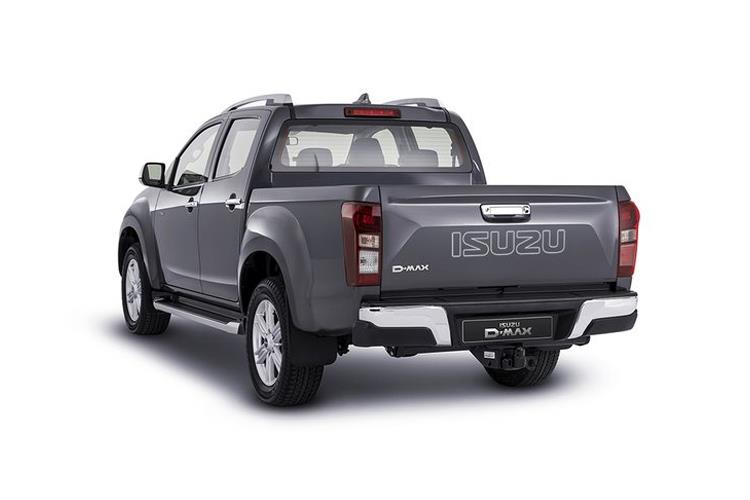 Isuzu D-MAX Pick Up Double Cab 4wd 1.9 TD 4WD 164PS Utah Pickup Double Cab Manual back view