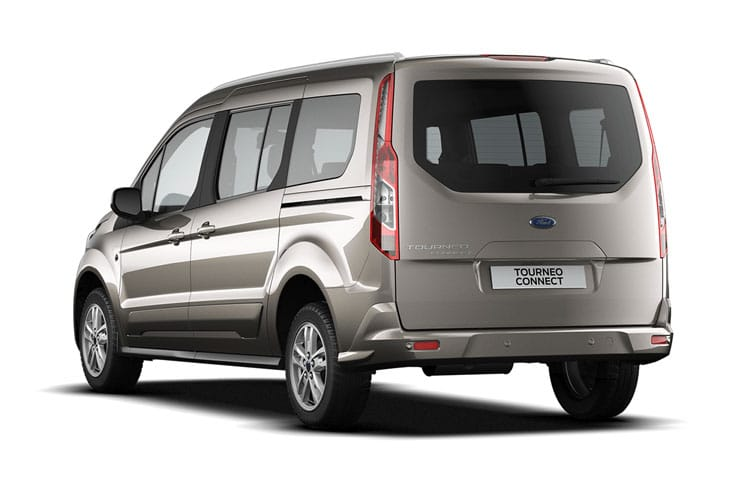 Ford Tourneo Connect Grand Tourneo Connect M1 1.5 EcoBlue FWD 100PS Zetec MPV Auto [Start Stop] [7Seat] back view