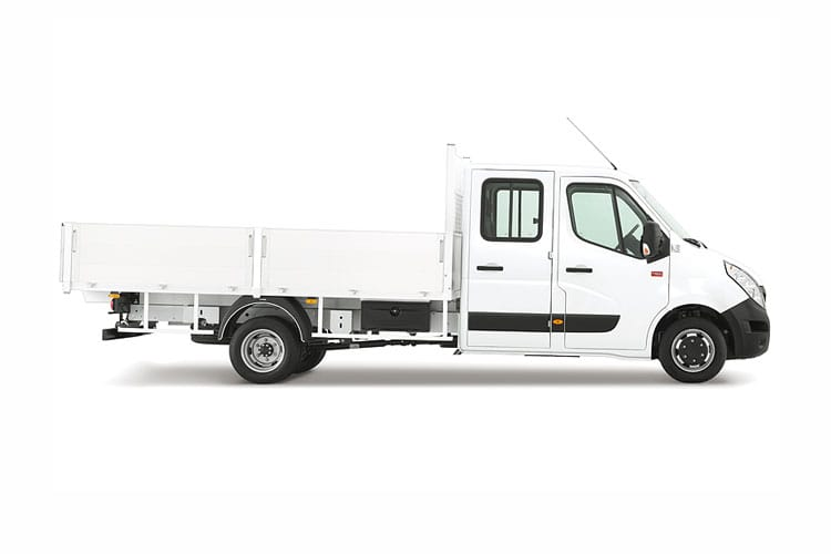 Renault Master MWB 35TW RWD 2.3 dCi DRW 130PS Business Tipper Manual [Aluminium] back view