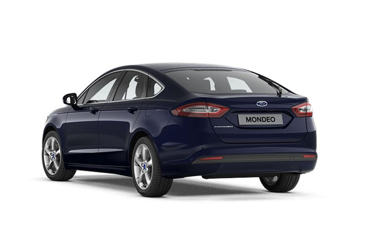 Ford Mondeo Hatch 5Dr 2.0 EcoBlue 150PS Titanium Edition 5Dr Auto [Start Stop] back view