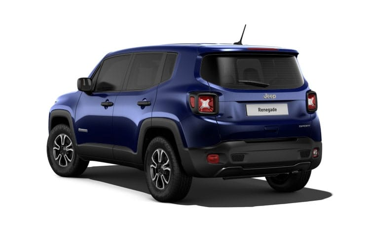 Jeep Renegade SUV 1.0 GSE T3 120PS Night Eagle 5Dr Manual [Start Stop] back view