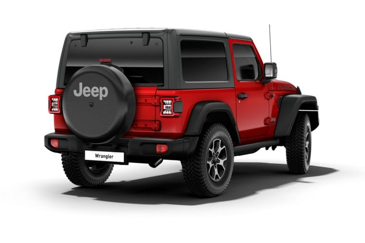 Jeep Wrangler SUV 2Dr 2.0 GME 272PS Sport 2Dr Auto [Start Stop] back view
