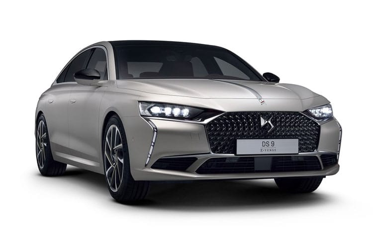 DS Automobiles DS 9 Saloon 4dr 1.6 PureTech 225PS Performance Line + 4Dr EAT8 [Start Stop] front view