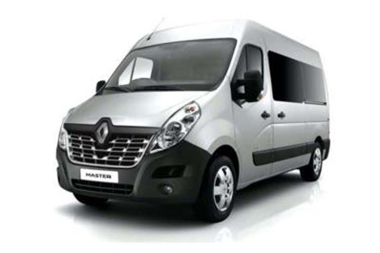 Renault Master LWB 35 FWD 2.3 dCi FWD 150PS Business Window Van High Roof Quickshift front view