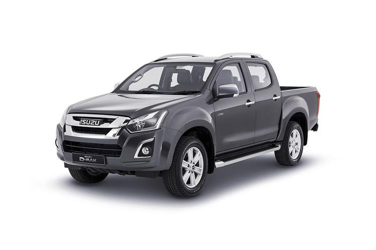 Isuzu D-MAX Pick Up Double Cab 4wd 1.9 TD 4WD 164PS Utah Pickup Double Cab Manual front view