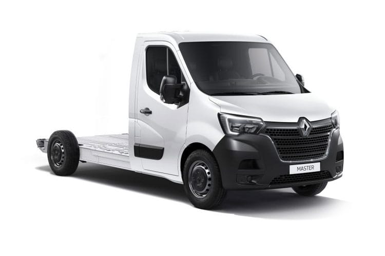 Renault Master LWB 35 FWD Elec 33kWh 57KW FWD 77PS i Business Platform Cab Auto front view