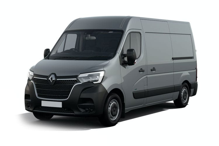 Renault Master LWB 35 FWD 2.3 dCi FWD 150PS Business Van Medium Roof Quickshift front view