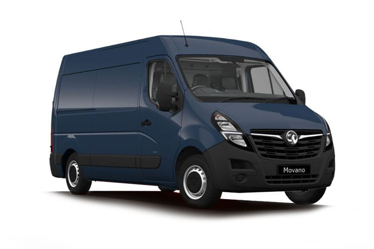 Vauxhall Movano F35 L2 2.3 CDTi BiTurbo FWD 135PS Edition Van Medium Roof Manual front view