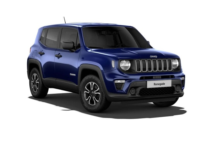 Jeep Renegade SUV 1.0 GSE T3 120PS Night Eagle 5Dr Manual [Start Stop] front view