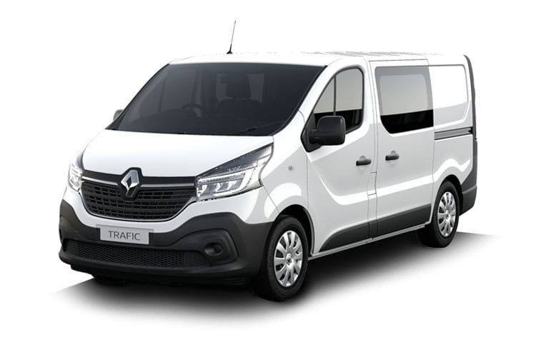 Renault Trafic 30 SWB 2.0 dCi ENERGY FWD 170PS Black Edition Crew Van EDC [Start Stop] front view