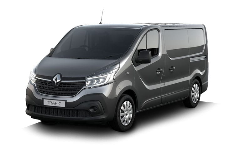 Renault Trafic 29 SWB 1.6 dCi ENERGY FWD 125PS Business+ Van High Roof Manual [Start Stop] front view