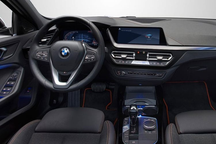 BMW 1 Series 116 Hatch 5Dr 1.5 d 116PS M Sport 5Dr DCT [Start Stop] [Plus] inside view
