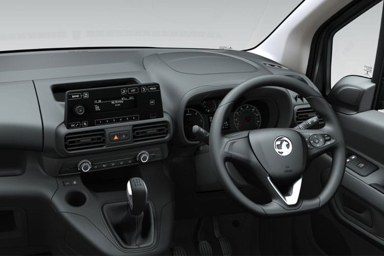 Vauxhall Combo Cargo L2 2300 1.5 Turbo D FWD 100PS Sportive Crew Van Manual inside view