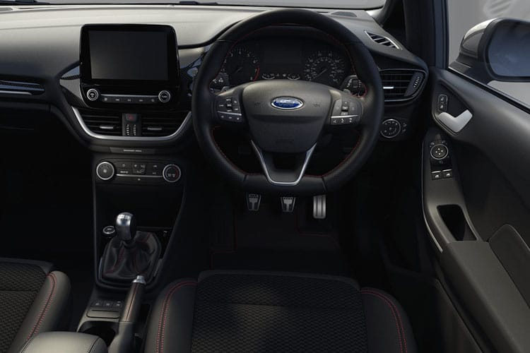 Ford Fiesta Hatch 5Dr 1.0 T EcoBoost MHEV 155PS Titanium X 5Dr Manual [Start Stop] inside view