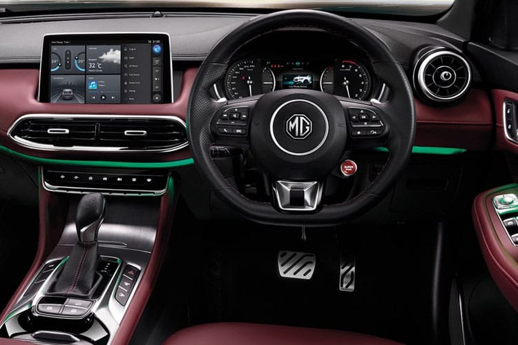 MG Motor UK MG HS SUV 1.5 T-GDI PiH 16.6 kWh 258PS Excite 5Dr Auto [Start Stop] inside view