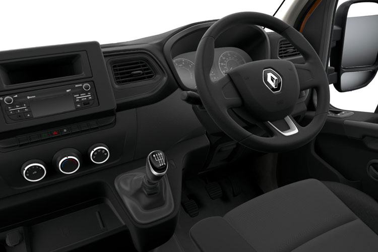Renault Master LWB 35 FWD Elec 33kWh 57KW FWD 77PS i Business Platform Cab Auto inside view