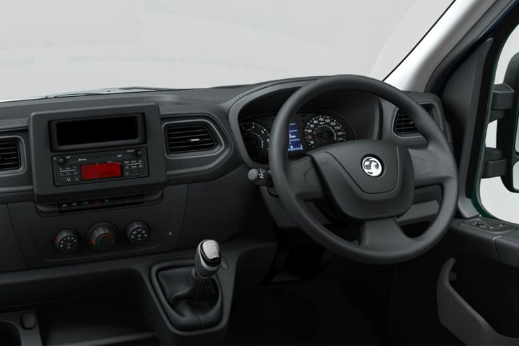 Vauxhall Movano R35 L4 2.3 CDTi BiTurbo RWD 130PS Edition Van High Roof Manual inside view