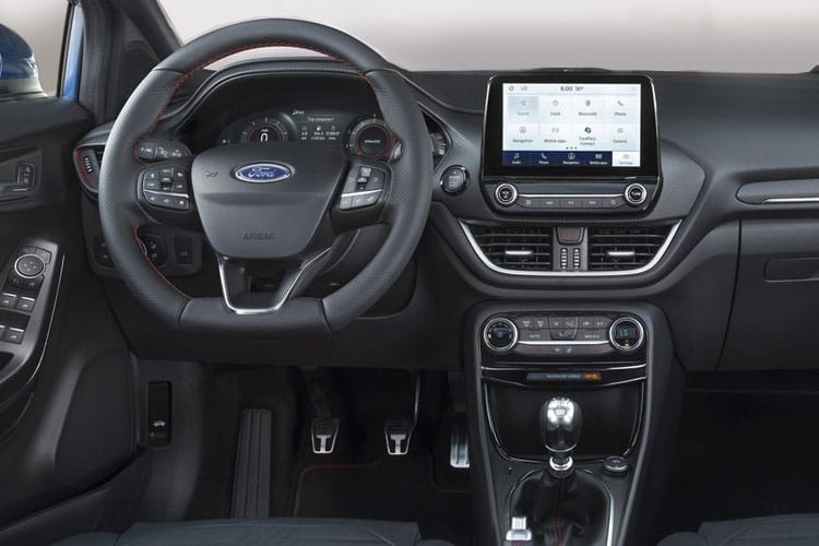 Ford Puma SUV 1.0 T EcoBoost MHEV 125PS ST-Line X 5Dr DCT [Start Stop] inside view
