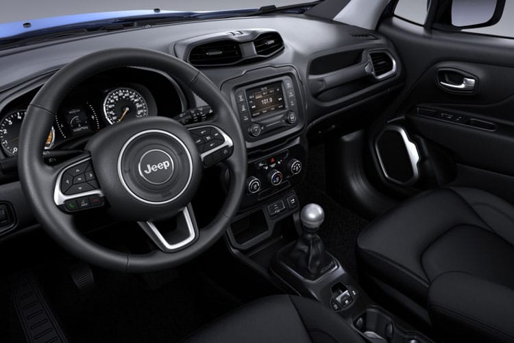 Jeep Renegade SUV 1.0 GSE T3 120PS Night Eagle 5Dr Manual [Start Stop] inside view