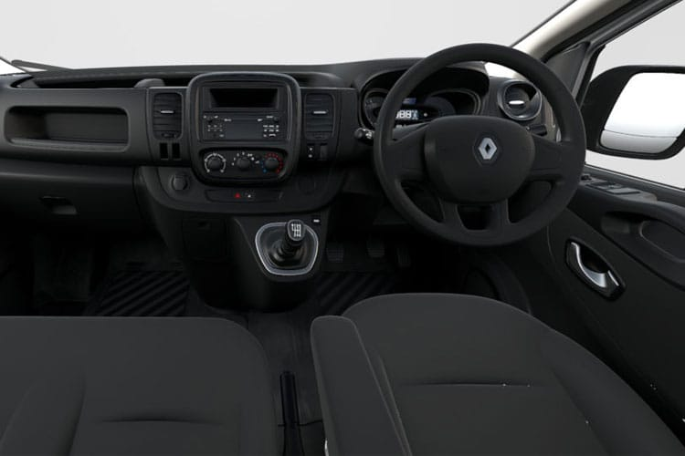 Renault Trafic 30 SWB 2.0 dCi ENERGY FWD 170PS Black Edition Crew Van EDC [Start Stop] inside view