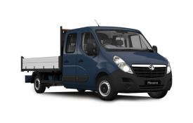 Vauxhall Movano HGV Dropside Double Cab van leasing